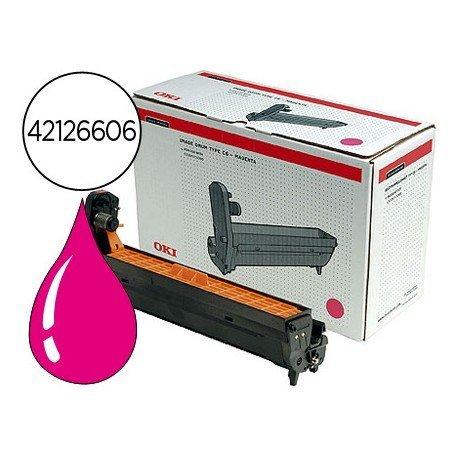 Tambor OKI magenta -17000 pag- (42126606) C5100 C5200 C5300 C5400