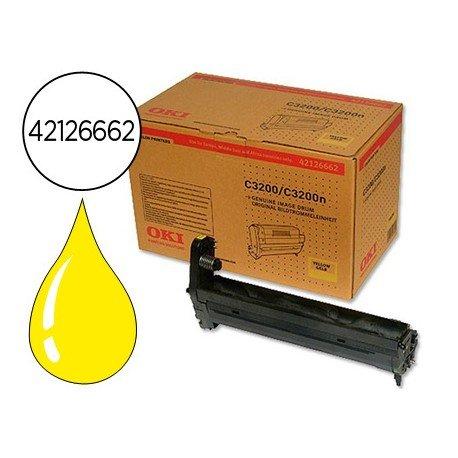 Tambor OKI amarillo -14000 pag- type c6le (42126662) C3200