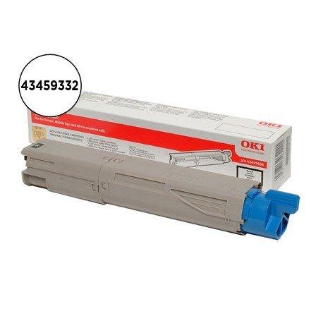 Toner OKI negro -2500 pag- type c9 (43459332) C3300 C3400 C3450