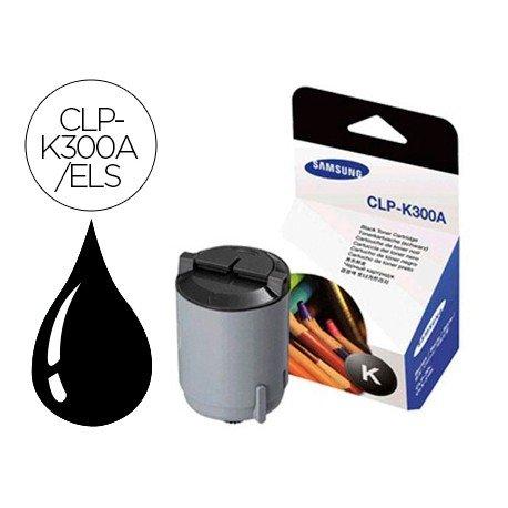 Tóner Samsung negro CLP-K300A/ELS, impresoras CLP-300, CLX-2160