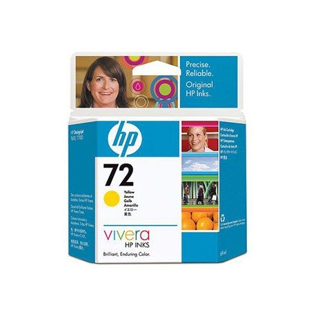Cartucho HP 72 color amarillo C9400A