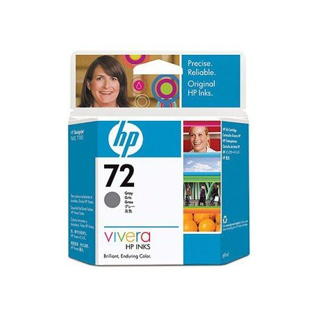 Cartucho HP 72 color gris C9401A