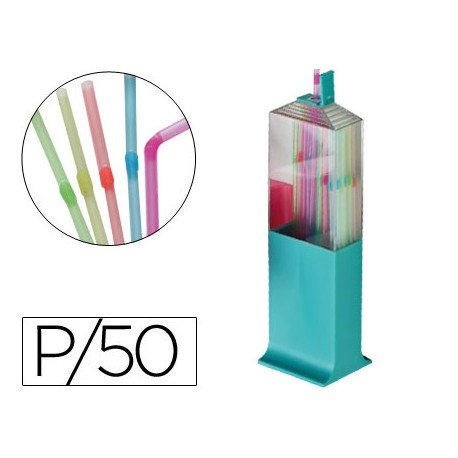 Sorbete flexible de plastico