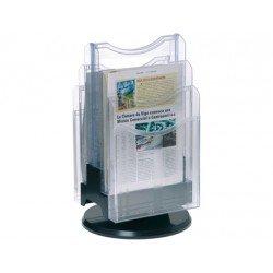 Expositor de sobremesa giratorio plastico Archivo 2000