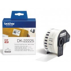 Cinta de papel continuo marca Brother 38 mm x 30,48 m