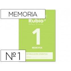Cuadernos rubio entrena tu mente Memoria 1