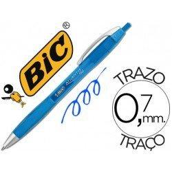 Boligrafo Bic atlantis color azul 0,7 mm