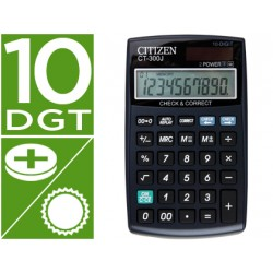 Calculadora sobremesa Citizen Modelo CT-300J 10 digitos