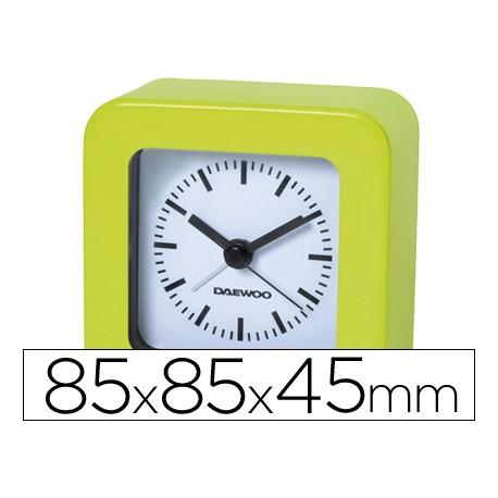 Reloj analogico marca Daewoo verde
