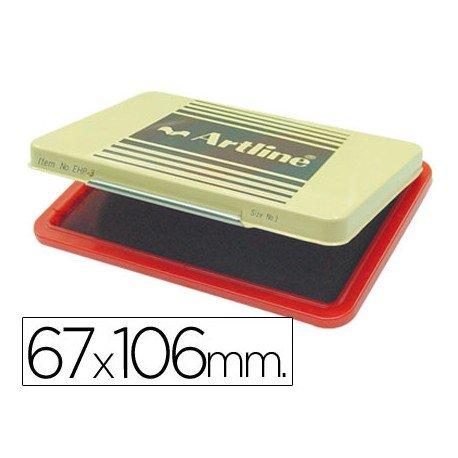 Tampon Artline EHP-3 color rojo