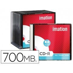 CD-R Imation 700mb imprimible