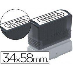 Etiquetas para sellos marca Brother 34x58 mm
