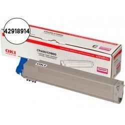 Toner oki C9600 C9650 C9800 (42918914) magenta