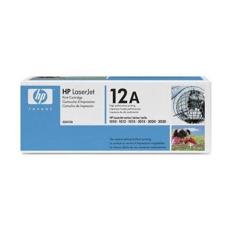 Toner Hp 12A Q2612AD color Negro PACK DOBLE