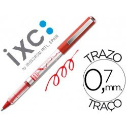 Boligrafo roller Inoxcrom free ink office campus rojo 0,7mm