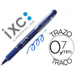 Rotulador roller Inoxcrom free ink campus azul 0,7 mm
