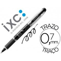 Rotulador roller Inoxcrom free ink campus negro 0,7 mm