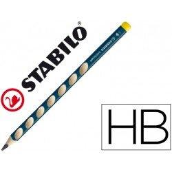 Lapices grafito marca Stabilo zurdos ergonomico minas HB triangular