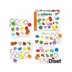 Juego diset didactico los colores