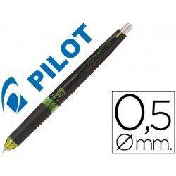 Portaminas Pilot HDF-5054 retractil Cuerpo negro y verde