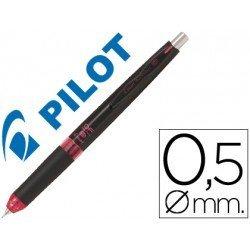 Portaminas Pilot HDF-5054 retractil Cuerpo negro y rojo