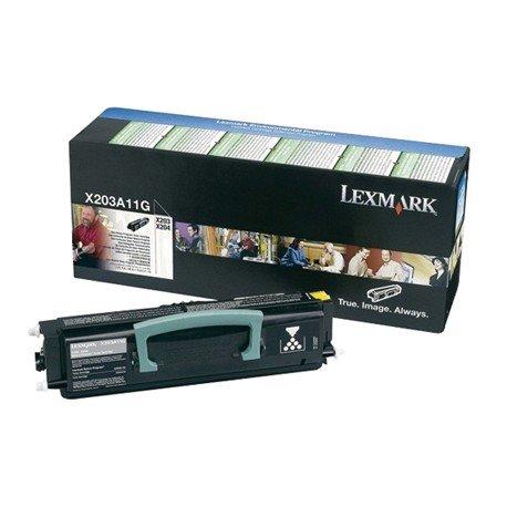 Toner Lexmark X203A11G color negro