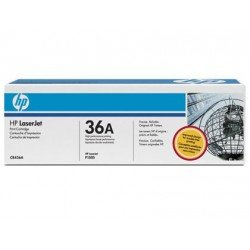 Toner HP 36A CB436AD color Negro