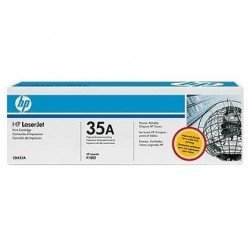 Toner HP 35A CB435AD color Negro