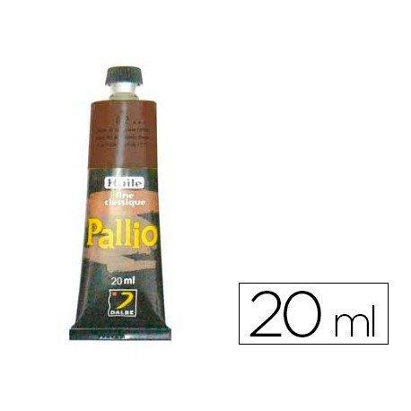 Pintura oleo Pallio tierra sombra natural 493 tubo de 20 ml
