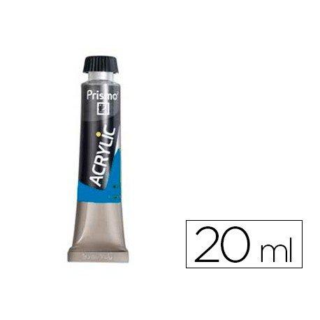 Pintura acrilica Prismo 370 color azul cobalto claro imitacion