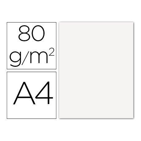 Papel color Liderpapel color blanco A4 80g/m2