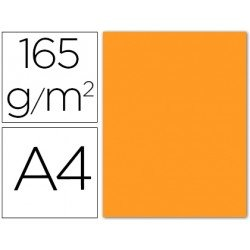 Papel color Liderpapel color naranja A4 165g/m2