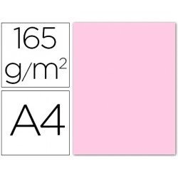 Papel color Liderpapel color rosa pastel A4 165g/m2
