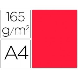 Papel color Liderpapel color rojo A4 165g/m2