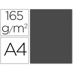 Papel color Liderpapel color gris A4 165g/m2