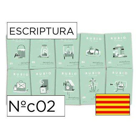 Cuaderno Rubio caligrafia Nº02 Catalan