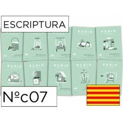 Cuaderno Rubio caligrafia Nº07 Catalan