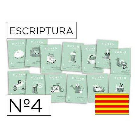 Cuaderno Rubio caligrafia Nº4 Catalan