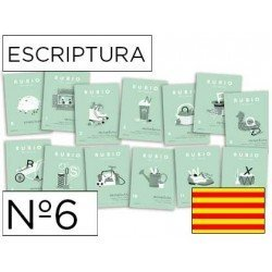 Cuaderno Rubio caligrafia Nº6 Catalan