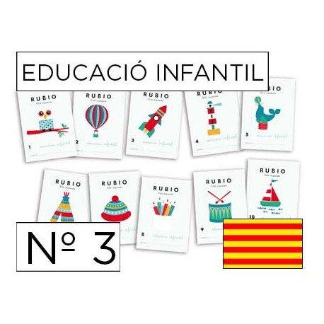 Cuaderno Rubio infantil Nº3 Catalan