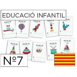 Cuaderno Rubio infantil Nº7 Catalan