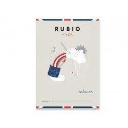 Cuaderno Rubio English colours