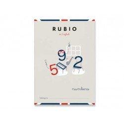 Cuaderno Rubio English numbers