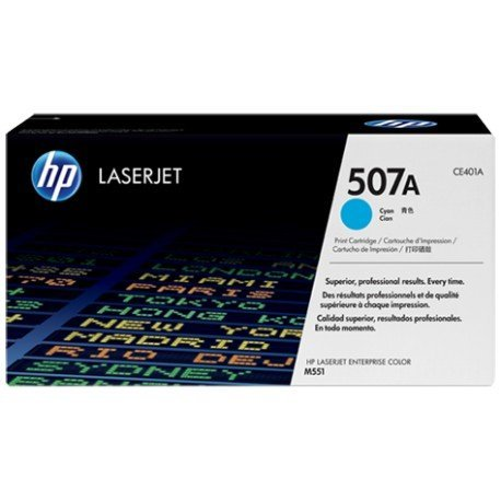 Toner HP 507A CE401A color Cian