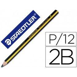 Lapices de grafito marca Staedtler Jumbo triangular