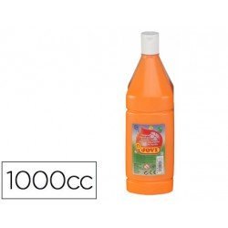 Tempera liquida Jovi color naranja 1000 cc