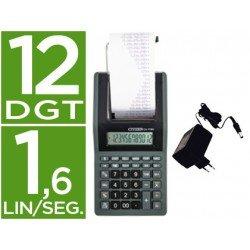 Calculadora impresora Citizen pantalla papel Modelo CX-77BN