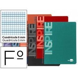 Bloc Liderpapel serie Inspire Folio cuadricula 5mm