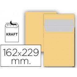 Sobre bolsa Liderpapel C5 Kraft 162 x 229 mm Caja 25
