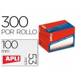Etiqueta adhesiva marca Apli 1704 53x100 mm redondas y rectangulares